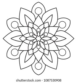 Easy Adult Coloring Pages Images Stock Photos Vectors