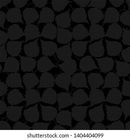 Simple monochrome pattern useful for background and textile