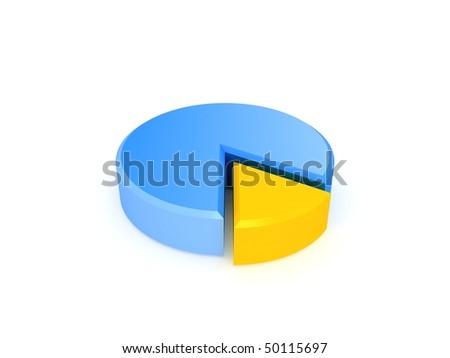 Simple Pie Chart Stock Illustration 50115697 Shutterstock