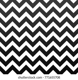 Simple popular zigzag pattern in square format illustration
