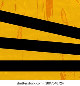 Simple Yellow street lines gray background road art illustration wallpaper. Next year most popular color mix style design.