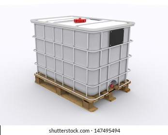 Single IBC Container