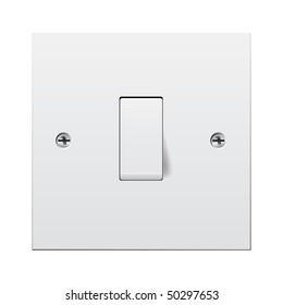 Single light switch