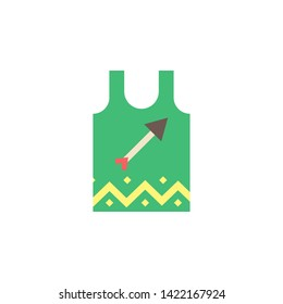 Singlet color icon. Element of boho color icon. Premium quality graphic design icon. Signs and symbols collection icon for websites, web design, mobile app
