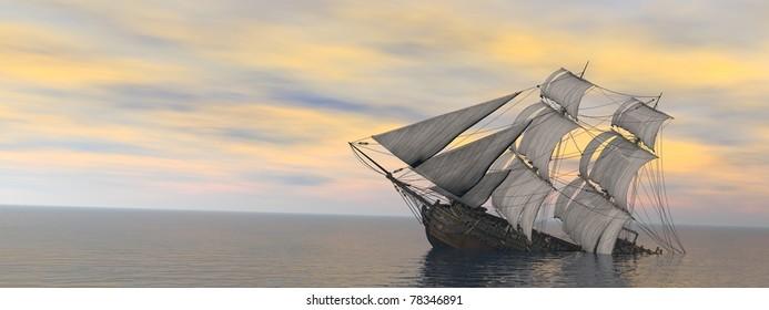 Resultado de imagem para caravel sinking draw