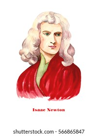 Sir Isaac Newton - an English physicist and mathematician.