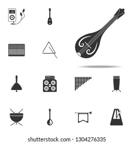 Sitar icon. Music Instruments icons universal set for web and mobile
