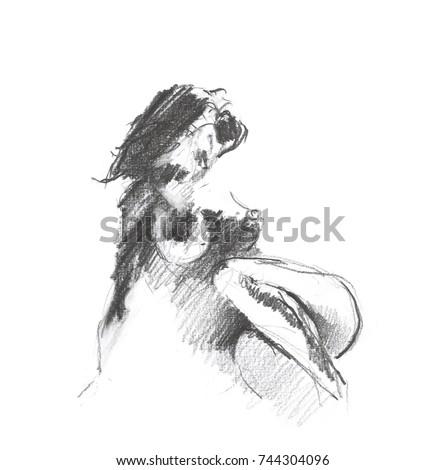 Panties nude self girl