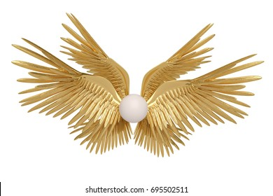 Wing Gold >> 1000 Gold Wings Pictures Royalty Free Images Stock Photos And