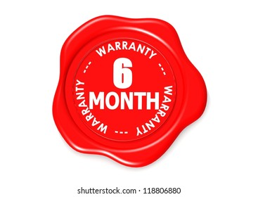 Six month warranty seal
