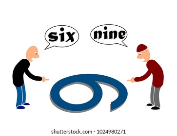 Six or nine, a matter of perspectives