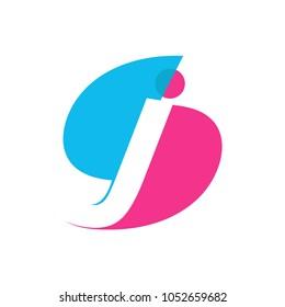 SJ initial logo - S initial logo