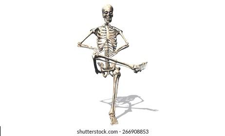 Sitting Skeleton Images, Stock Photos & Vectors   Shutterstock