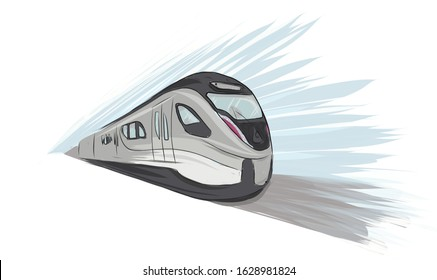 sketch of a  speed Metro