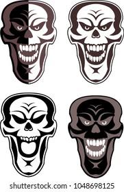 Skull Mask Tattoo