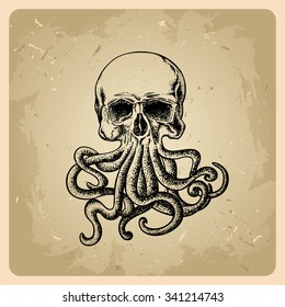 Octopus Tattoo Images Stock Photos Vectors Shutterstock