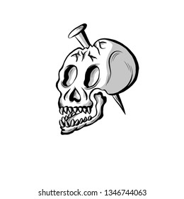 137a5c2cb Skull Tattoo Images, Stock Photos & Vectors | Shutterstock