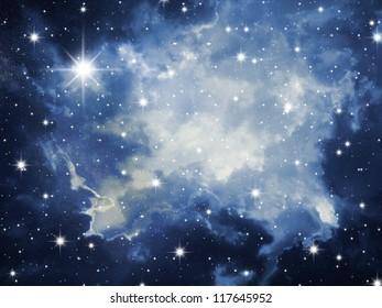 Sky in stars