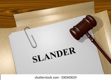 Slander Title On Legal Documents