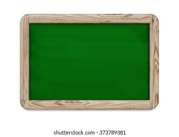 slate board with clipping path