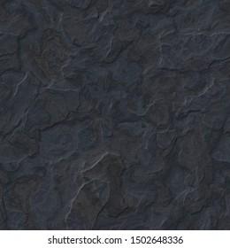 Tonsteinstrukturhintergrund - nahtlose dreidimensionale Illustration