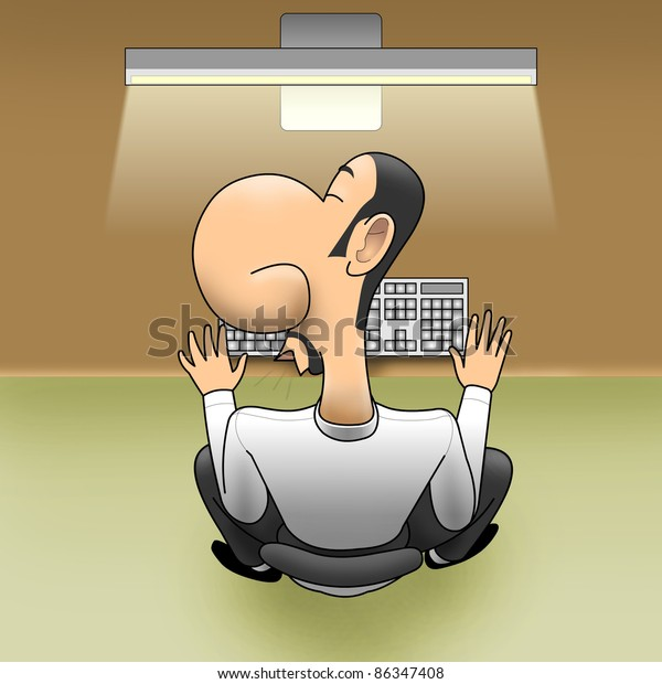 Sleep on workplace