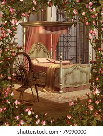 Sleeping Beauty's Bedroom