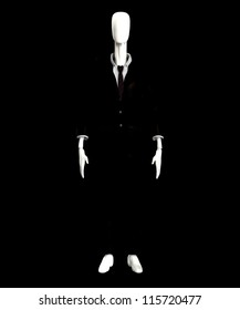The slender man of internet mythology.