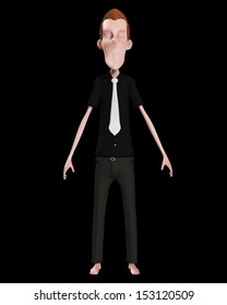 Slenderman made famous by internet myth.