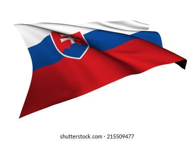 Slovakia flag - collection no_5