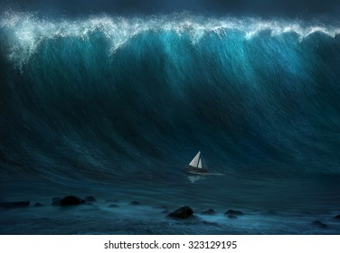 Boat Waves Images Stock Photos Amp Vectors Shutterstock