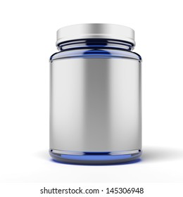 Small Jar for sport supplements