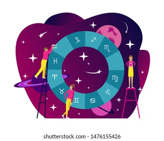Birth Chart Images, Stock Photos & Vectors | Shutterstock