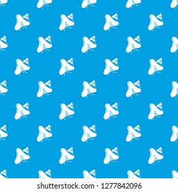 Smallpox virus pattern seamless blue repeat for any use