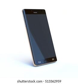 Smart phone 3d rendering