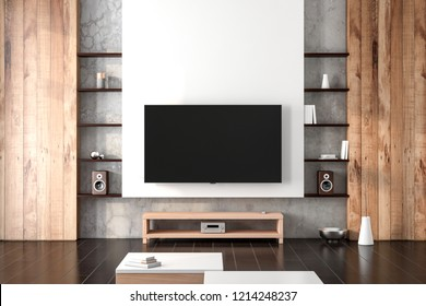 Royalty Free Modern Tv Cabinet Stock Images Photos