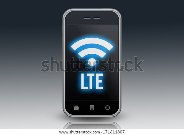 Smartphone with LTE wording