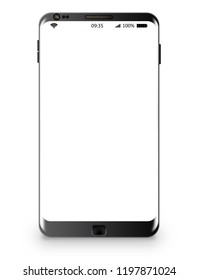 A smartphone symbolizing business and IT concepts.