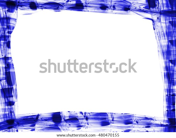 Smoke Blue Line Ornament Background Abstract Royalty Free