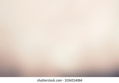 Smoke soft bottom. Pastel empty background. Beige abstract texture. Hipster blurred illustration. Vintage defocused pattern.
