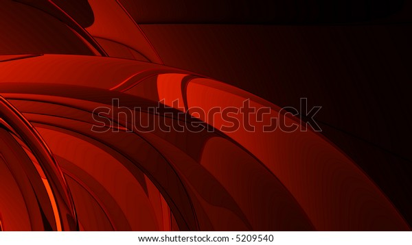 smooth red metal abstract background