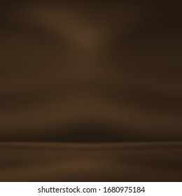 Smooth, soft brownish gradient backdrop abstact background