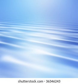 Smooth water waves background