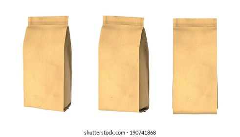 Snack package cardboard.Packing for the isolation of the product. Easy editable for your design.