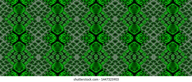 Snake print. Green reptile background. Crocodile skin texture. Seamless reptile print. Watercolour background. Lizard skin. Snake print seamless.