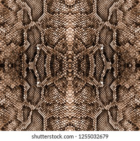 snake skin original yellow pattern background