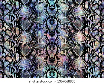 Snake skin pattern texture repeating seamless colorful texture snake. Texture snake. Fashion and stylish background. Hi quality fashion design. Fresh and unique texture background.
