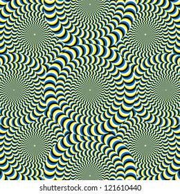 Snake Wheelies  (motion illusion)