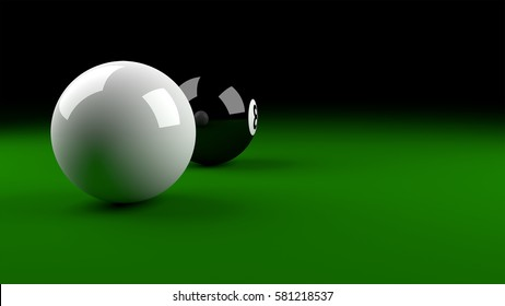 Snooker Pool Ball.