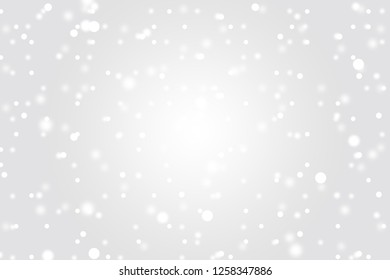 Snow fall from sky can be use as background for Christmas festival or winter season contents or for wallpaper or paper for contents about winter. The snow are on grey color backgrond.
